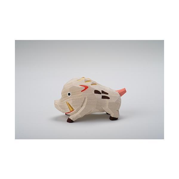 干支置物「亥」(いのしし)大サイズ/奈良一刀彫/楠/人形/猪/イノシシ/いのしし/亥|ikkisya|05