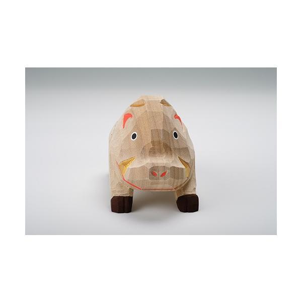 干支置物「亥」(いのしし)特大サイズ/奈良一刀彫/楠/人形/猪/イノシシ/いのしし/亥|ikkisya|02