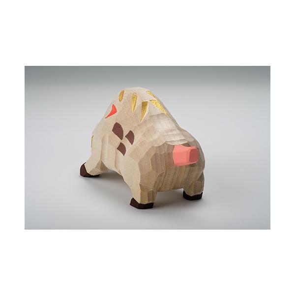 干支置物「亥」(いのしし)特大サイズ/奈良一刀彫/楠/人形/猪/イノシシ/いのしし/亥|ikkisya|04