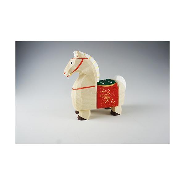 干支置物「午」(うま)大サイズ/奈良一刀彫/楠/人形/ウマ/うま/午|ikkisya|03