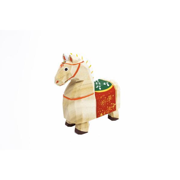 干支置物「午」(うま)小サイズ/奈良一刀彫/楠/人形/ウマ/うま/午|ikkisya