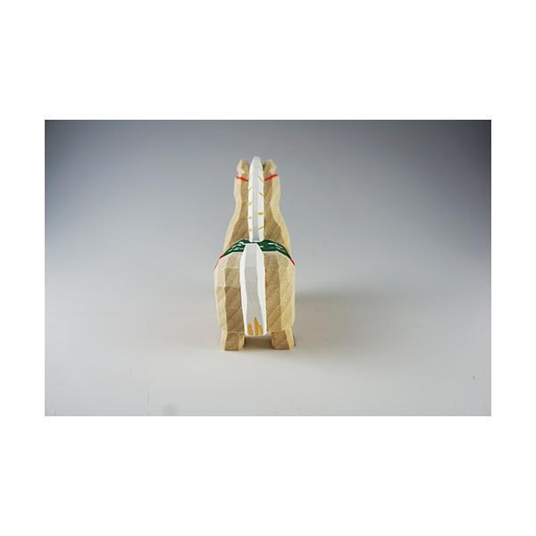 干支置物「午」(うま)小サイズ/奈良一刀彫/楠/人形/ウマ/うま/午|ikkisya|04