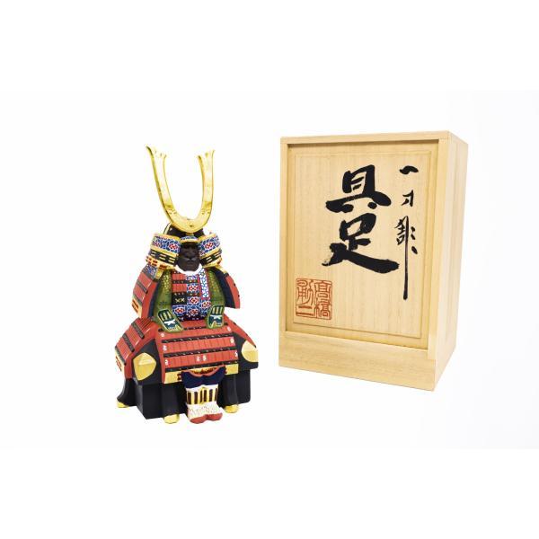 五月人形「具足」4号サイズ/奈良一刀彫/桂/甲冑/鎧/兜|ikkisya