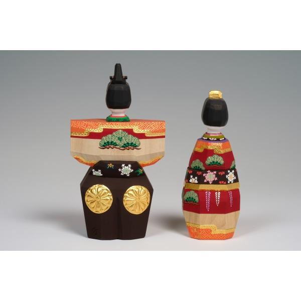 雛人形「あきしの」5号サイズ/一刀彫/奈良/立雛/ひな人形|ikkisya|04