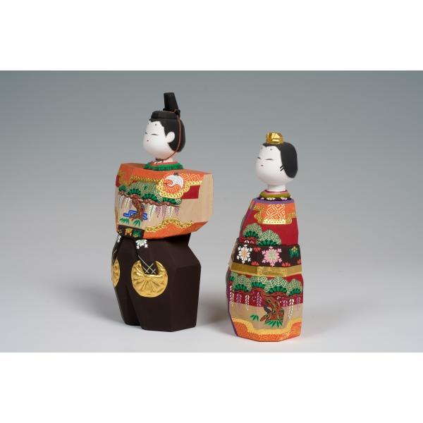 雛人形 「あきしの」9号サイズ 立雛 | 一刀彫り お雛様 手作り おしゃれ ひな人形 一刀彫 奈良|ikkisya|03