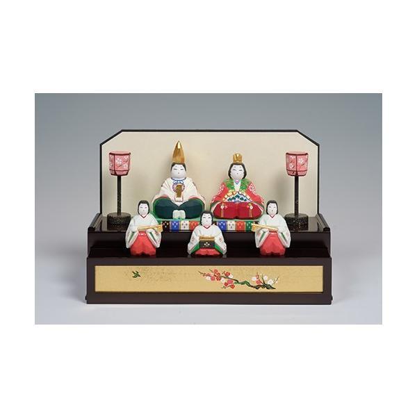 雛人形「初音」/一刀彫/奈良/五人飾り/ひな人形|ikkisya|03