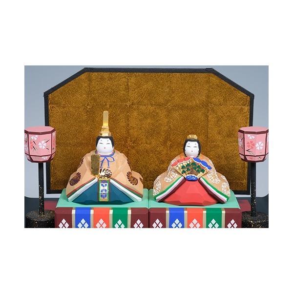雛人形/親王雛「かぐや」/一刀彫/奈良/ひな人形|ikkisya|02