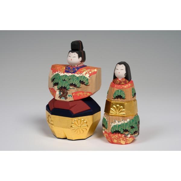 雛人形「まほろば」4.5号サイズ/一刀彫/奈良/立雛/ひな人形|ikkisya|03