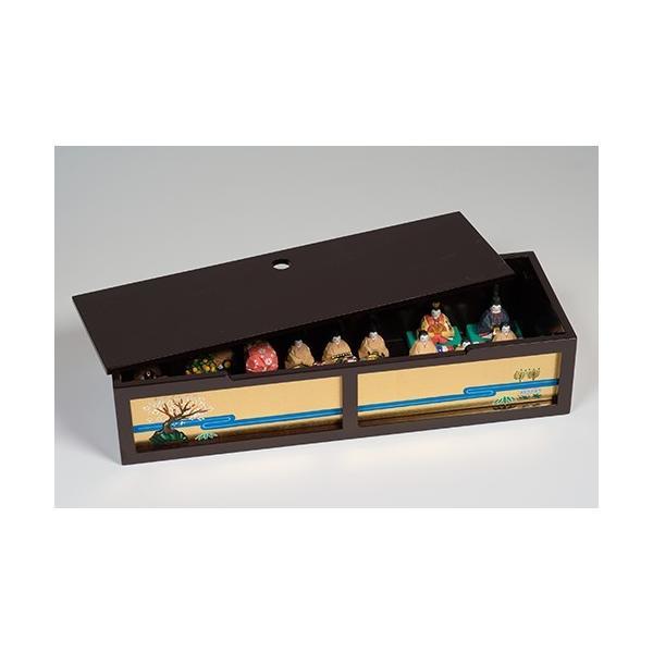 雛人形「段飾雛 うるわし」大サイズ/一刀彫/奈良/十五人飾り/ひな人形|ikkisya|04