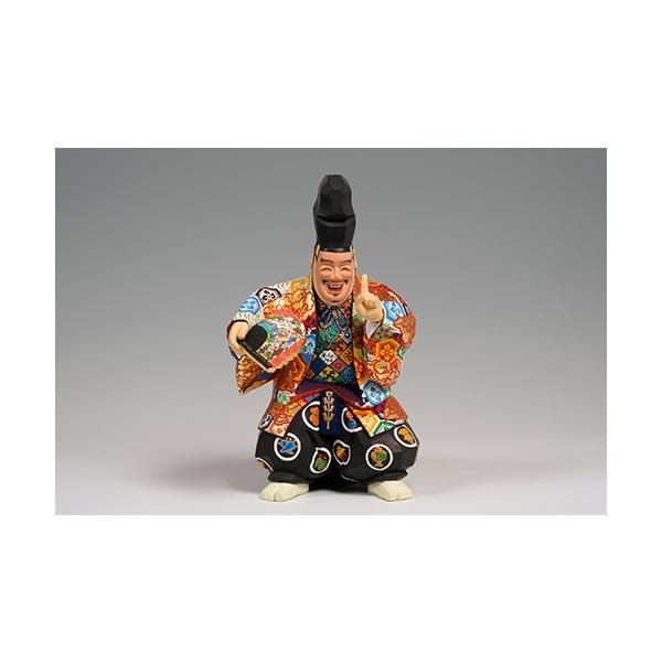 福の神(狂言) 小サイズ/奈良一刀彫/楠/木彫人形|ikkisya