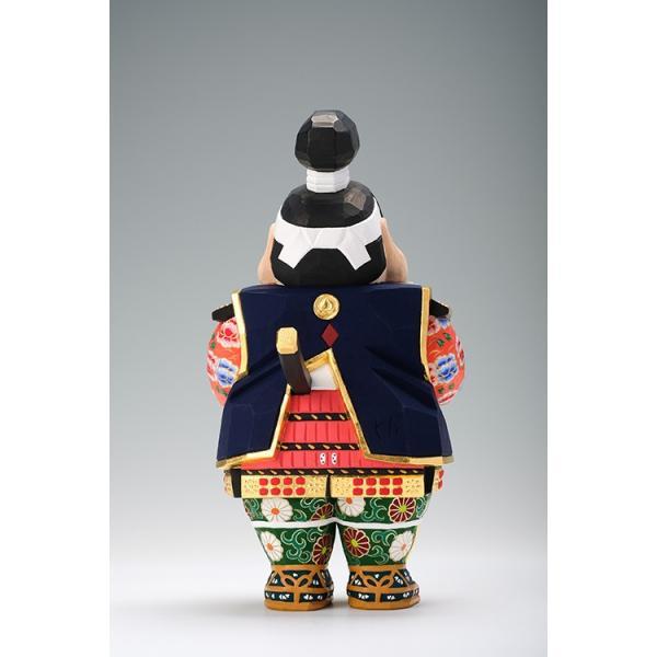 五月人形「桃太郎」中サイズ/奈良一刀彫/桧|ikkisya|04