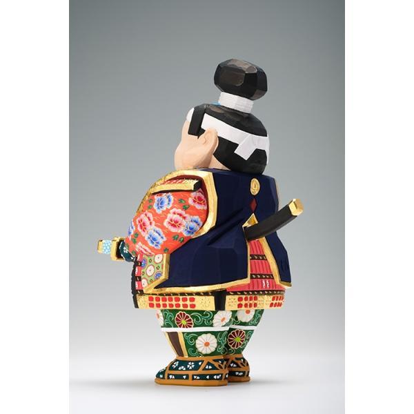 五月人形「桃太郎」中サイズ/奈良一刀彫/桧|ikkisya|08