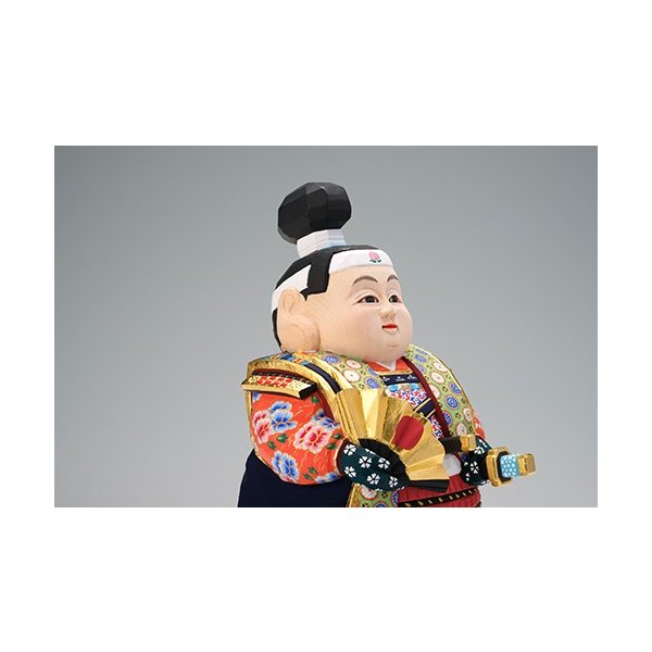 五月人形「桃太郎」小サイズ/奈良一刀彫/桧|ikkisya|02