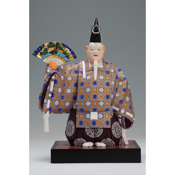 翁(能)おきな/奈良一刀彫/楠/木彫人形/おきな/|ikkisya