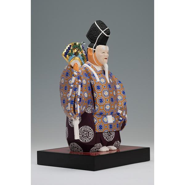 翁(能)おきな/奈良一刀彫/楠/木彫人形/おきな/|ikkisya|10