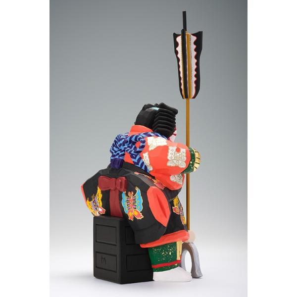 矢の根(歌舞伎)/奈良一刀彫/木彫人形/かぶき/やのね ikkisya 06