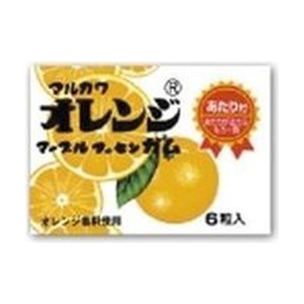 丸川製菓 オレンジマーブルガム 33入