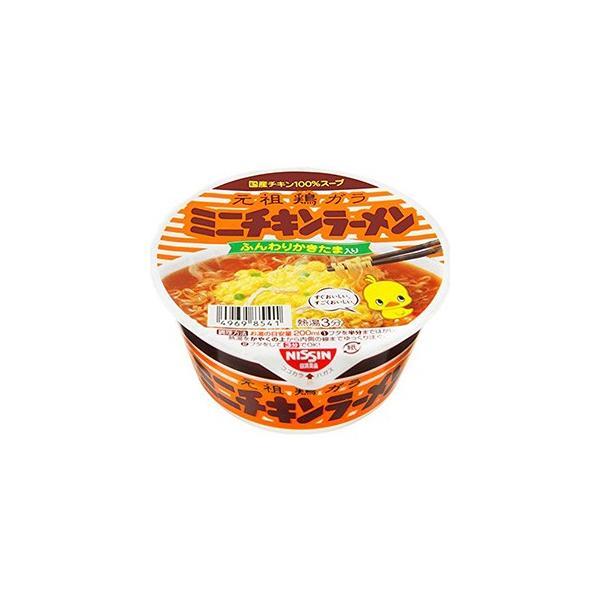 日清食品 チキンラーメンどんぶり ミニ 38g×12入