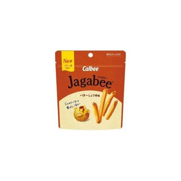 カルビー Jagabee(ジャガビー)スタンドパウチ バターしょうゆ味 40g×12入