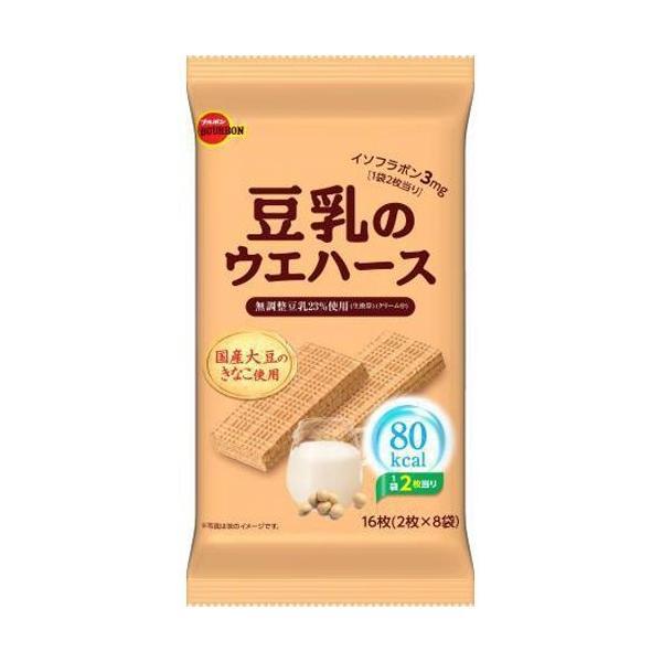 ブルボン 豆乳のウエハース 16枚×6入