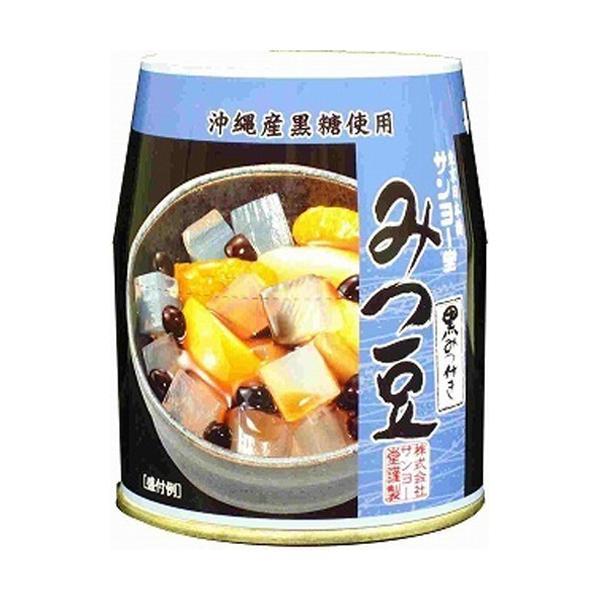 サンヨー堂 みつ豆(黒みつ) 225g×6入