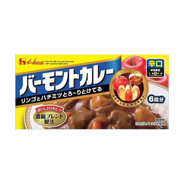 ハウス食品 バーモントカレー(辛口) 115g×10入