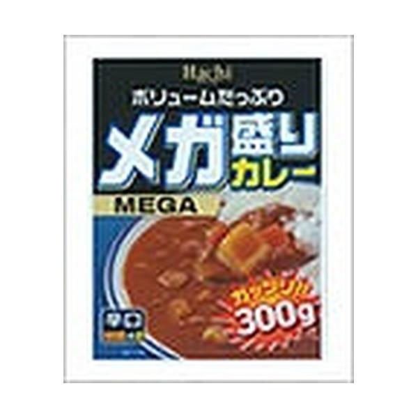 ハチ食品 メガ盛りカレー辛口 300g×20入