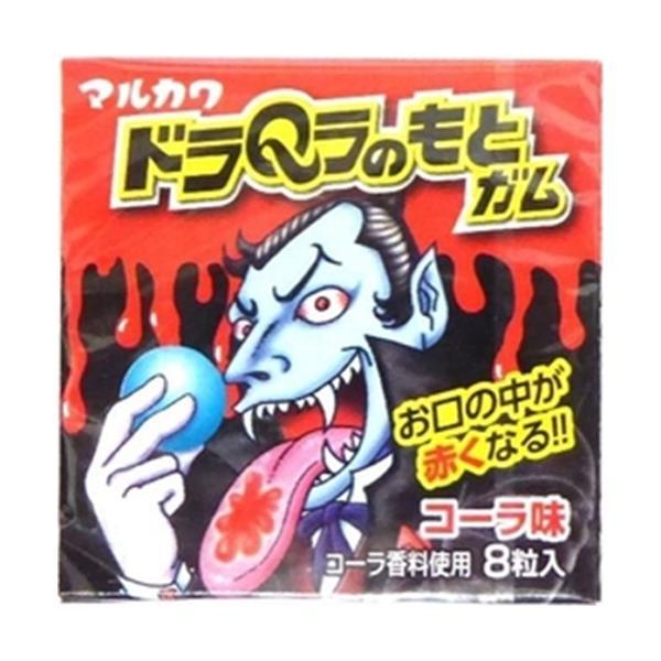 丸川製菓 ドラQラのもとガム 8粒 18入