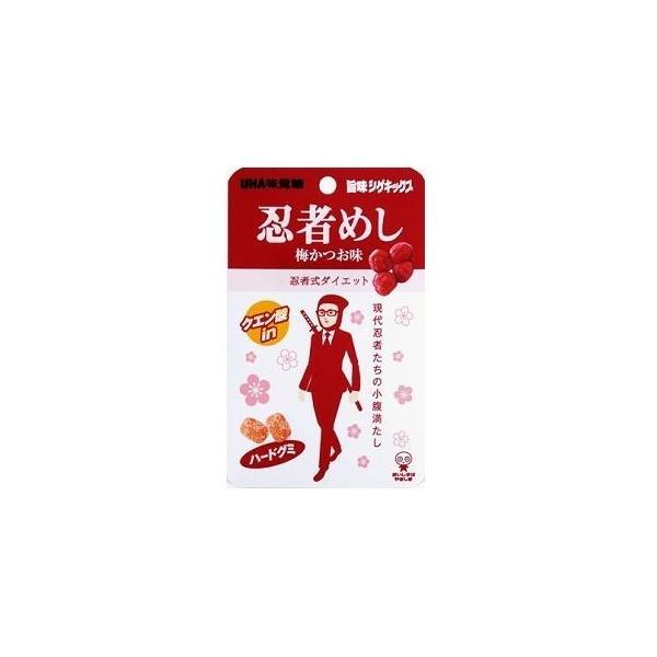 UHA味覚糖 旨味シゲキックス忍者めし梅かつお味 20g×10入