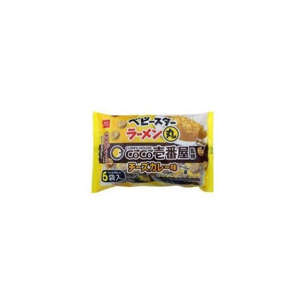 おやつカンパニー ベビースター ラーメン丸 CoCo壱番屋チーズ 6袋×12入(7月中旬頃入荷予定)