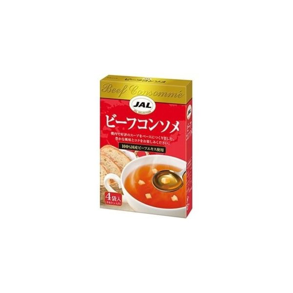 明治 JALビーフコンソメ 5gX4P 5入