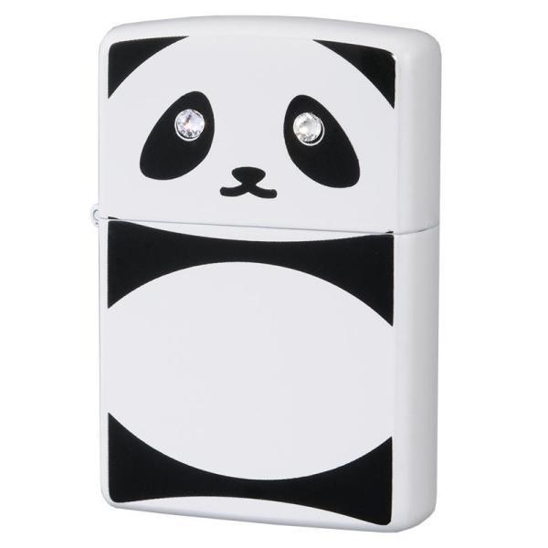 ZIPPO(ジッポー) オイルライター パンダ C クリスタル 63320798かわいい アニマル 動物