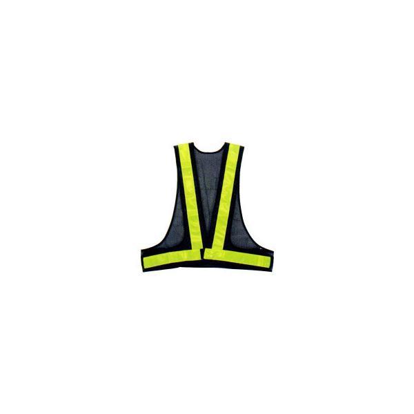 勝星 保安用品 安全ベスト(5cm巾) KA-350 紺×イエロー【代引き不可】