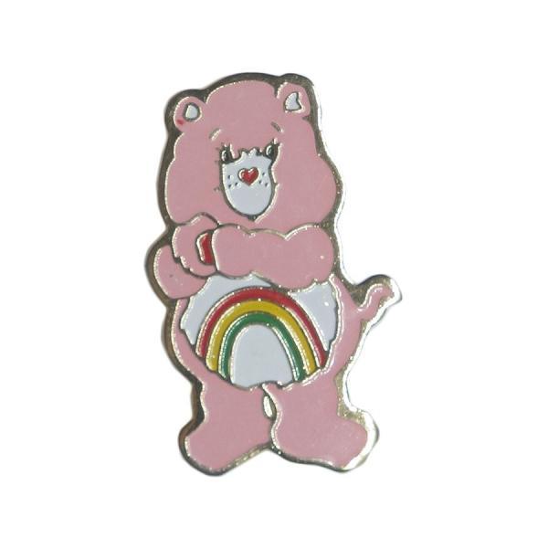 ブローチ ピンバッチ ケアベア Care Bears ピンバッチ くま キャラクター