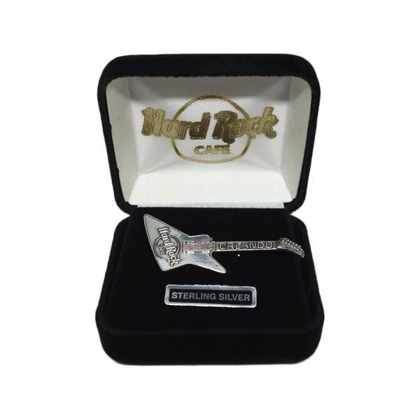 HardRockCAFEギターブローチハードロックカフェLAKETAHOEピンバッジピンバッチ