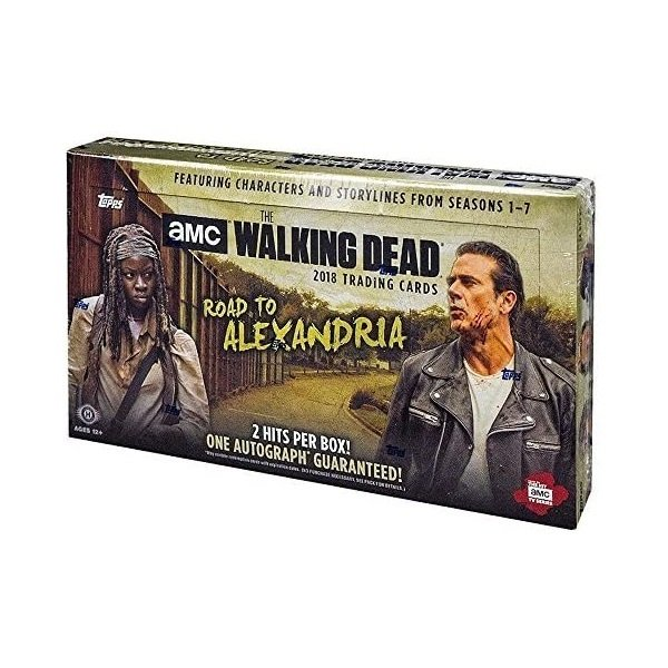 2018 TOPPS THE WALKING DEAD ROAD TO ALEXANDRIA[ボックス]