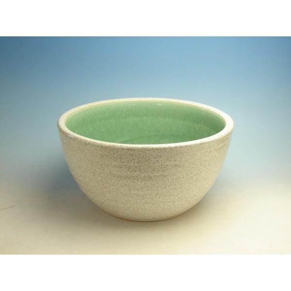 白い睡蓮鉢10号信楽焼金魚メダカ6753495