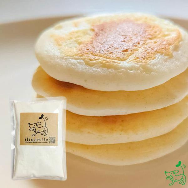 犬用ケーキ クリスマス ハロウィン 誕生日ケーキ おやつ 無添加 米粉 ナチュラルパンケーキミックス 150g イリオスマイル ポイント消化|iliosmile