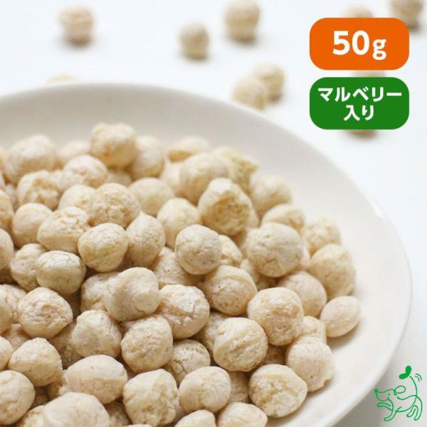 犬 おやつ 手作り食 無添加 国産マルベリーと8種の雑穀パフ 50g イリオスマイル ポイント消化|iliosmile