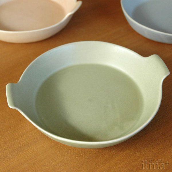 4th-market ラディッシュラウンドベーキング 緑(オーブン皿)|ilmaplus