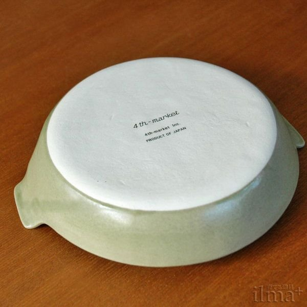 4th-market ラディッシュラウンドベーキング 緑(オーブン皿)|ilmaplus|02