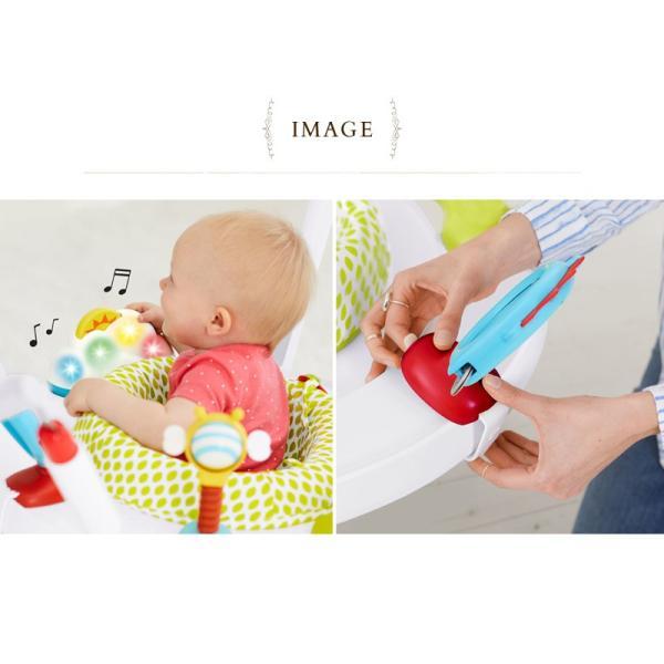 ジャンパルー 赤ちゃん 遊具 歩行器 バウンサー SKIP HOP スキップホップ バウンス&カウント・アクティビティージャンパー FTSH304350|ilovebaby|06