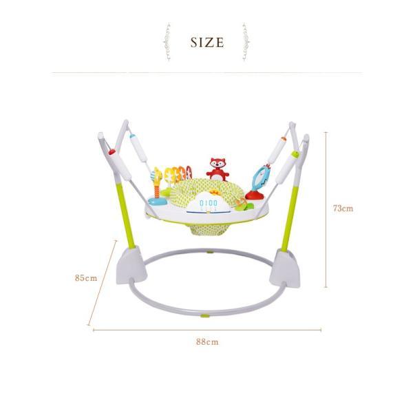 ジャンパルー 赤ちゃん 遊具 歩行器 バウンサー SKIP HOP スキップホップ バウンス&カウント・アクティビティージャンパー FTSH304350|ilovebaby|07