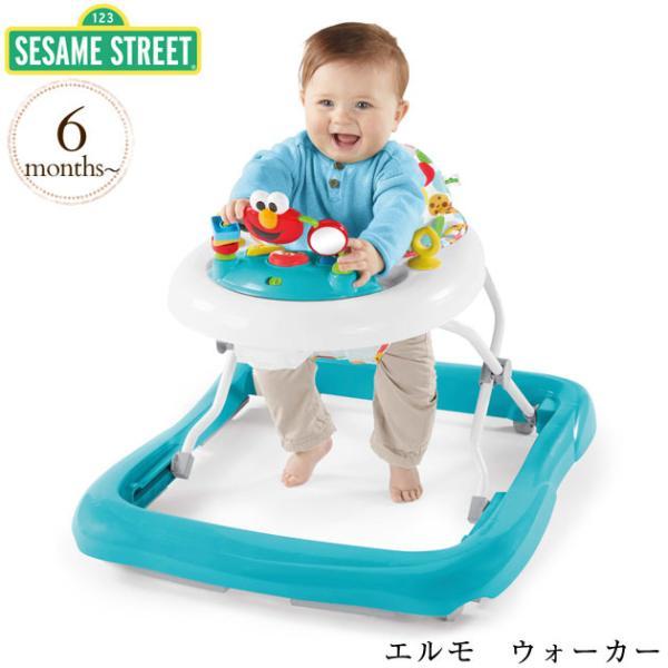 おもちゃ セサミストリート エルモ 歩行器 かわいい SESAME STREET セサミストリート エルモ ウォーカー 11628