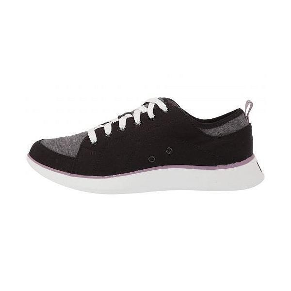 Dr. Scholl's ドクターショール レディース 女性用 シューズ 靴 スニーカー 運動靴 Kick It - Black Washed Canvas