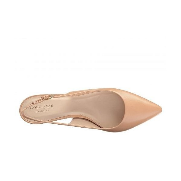 Cole Haan コールハーン レディース 女性用 シューズ 靴 ヒール Medora Sling - Nude Leather