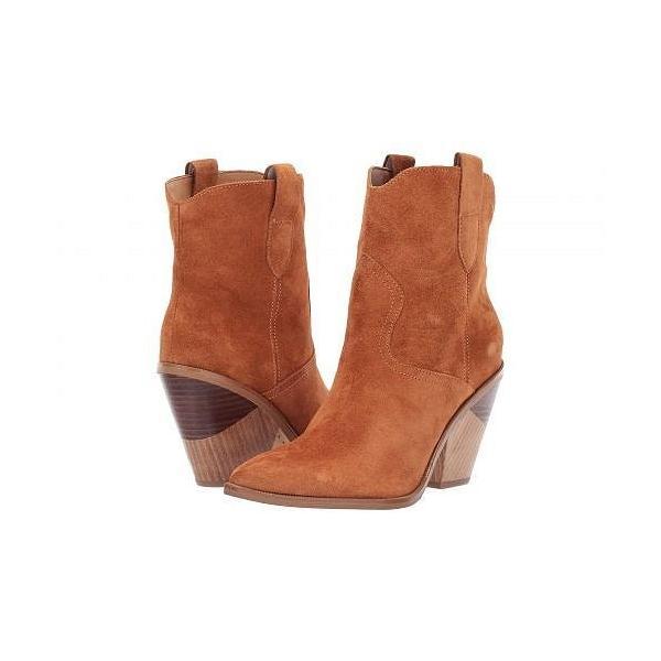 Marc Fisher LTD マークフィッシャーリミテッド レディース 女性用 シューズ 靴 ブーツ アンクルブーツ ショート Sobina - Medium Brown Suede