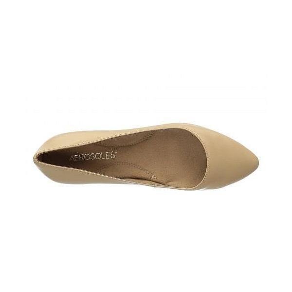 Aerosoles エアロソールズ レディース 女性用 シューズ 靴 フラット Hey Girl - Light Tan Leather