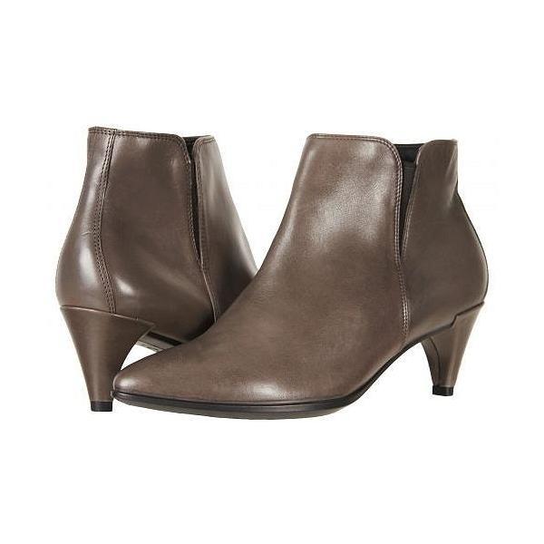 ECCO エコー レディース 女性用 シューズ 靴 ブーツ アンクルブーツ ショート Shape 45 Sleek Ankle Boot - Stone Calf Leather