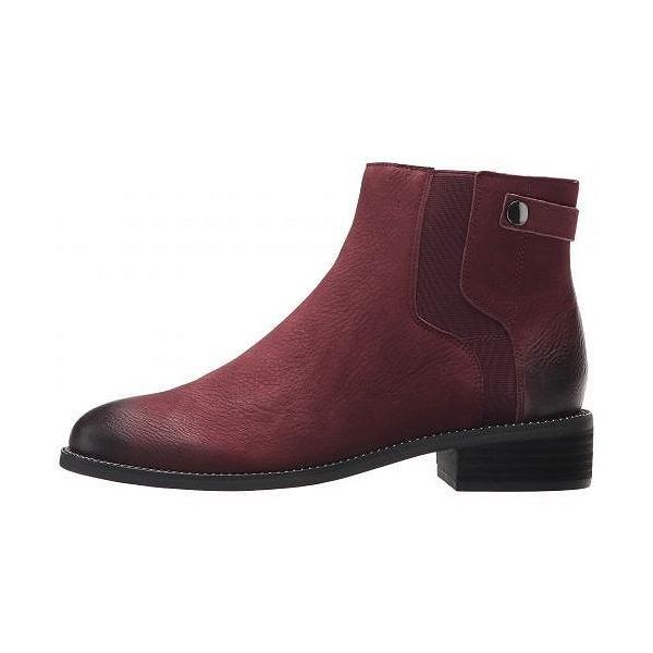 Franco Sarto フランコサルト レディース 女性用 シューズ 靴 ブーツ アンクルブーツ ショート Brandy - Dark Burgundy Morocco Leather